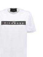John Richmond Studded Logo T-shirt - White