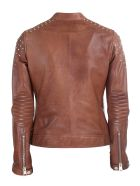 Unfleur leather jacket - Beige