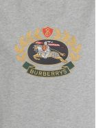 Burberry Gully T Shirt - PALE GREY MELANGE