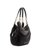 MICHAEL Michael Kors Black Lillie Leather Bag - Black
