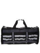 Eastpak Black White Mountaineering Bag In Nylon - Black
