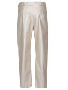 Boutique Moschino Boutique Moschino Pleated Trousers - Gold