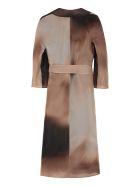 Max Mara Studio Dondolo Silk Coat - Pale pink