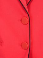Emporio Armani Cotton Jacket 2 Buttons - Rosso