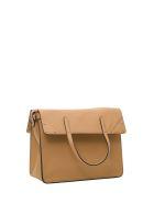 Fendi Fendi Flip Handbag - Beige