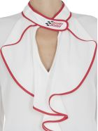 Stella Jean Blouse With Frills - WHITE