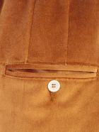 Jejia Pants W/curl On Waist - Tabacco
