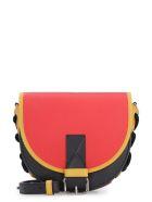 J.W. Anderson Bike Multicolor Leather Shoulder Bag - red