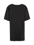 Boutique Moschino Printed Cady Mini Dress - black