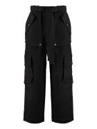 Kenzo Cotton Cargo-trousers - black