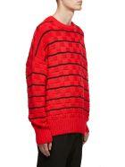 Ami Alexandre Mattiussi Oversized Sweater - Rosso nero