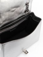 Jimmy Choo Helia Shoulder Bag - Anthracite