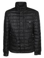 Dolce & Gabbana Single Pocket Detail Padded Jacket - Nero