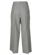 QL2 Cropped Trousers - Light gray