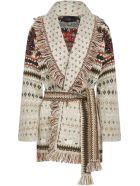 Alanui Lost In A Forest Cardigan - Ivory