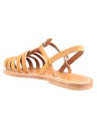 K.Jacques Roman Cage Sandals - Pul Naturel