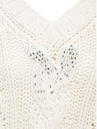 Ermanno Scervino Sweater - Ecru