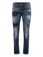 Philipp Plein Patch Detail Milano Cut Jeans - Denim