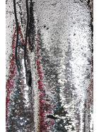 Golden Goose Alyssa Shorts In Black Polyester - Silver