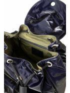 Mr & Mrs Italy Cotton Velvet Tech Travel Backpack - INDACO