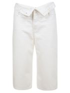 T by Alexander Wang Runway Scout Flip Shorts - Stay White
