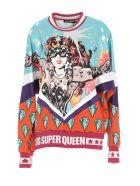 Dolce & Gabbana Dg Super Queen Sweatshirt - Multicolor