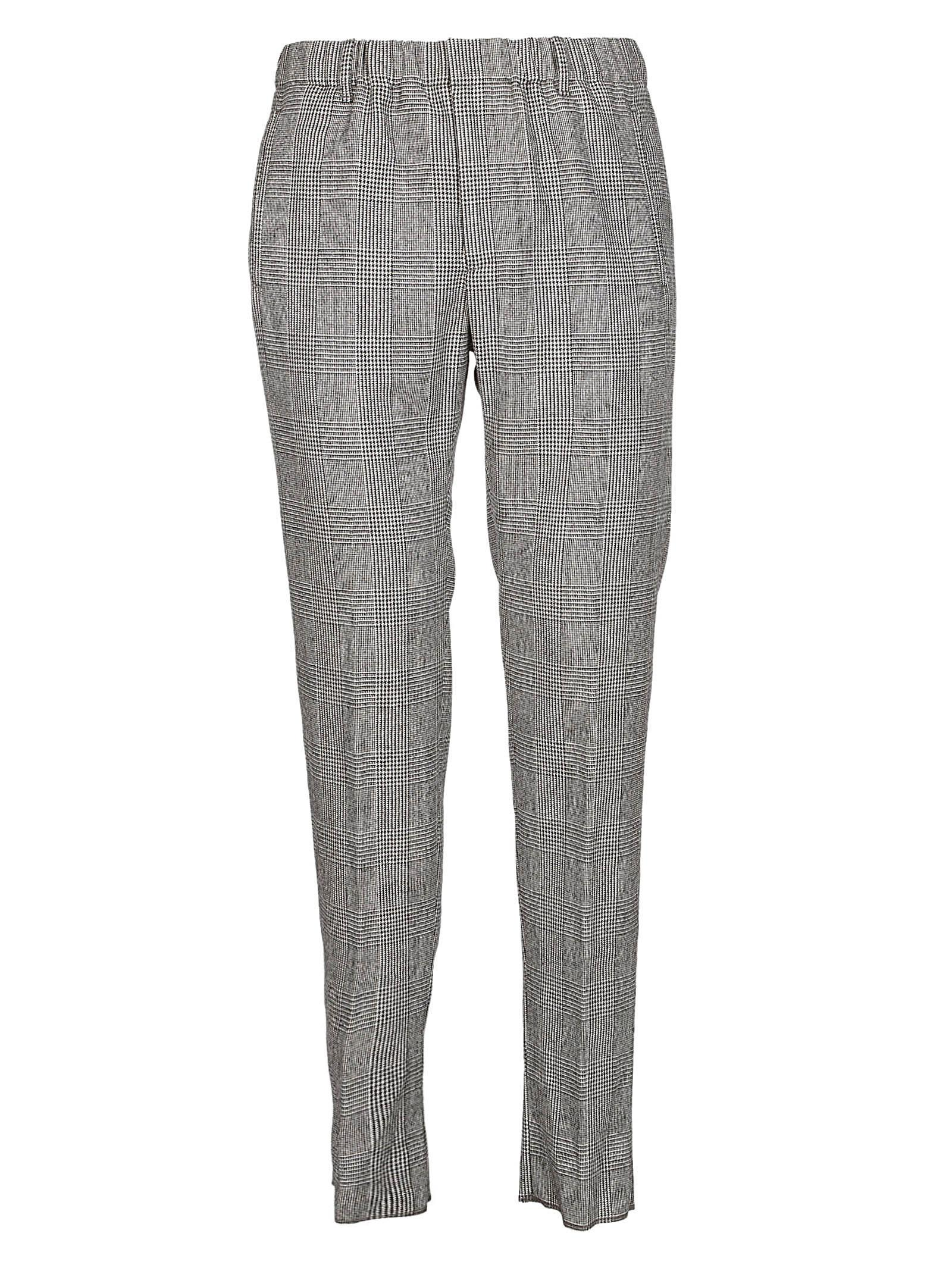 Incotex Checked Slim-fit Trousers