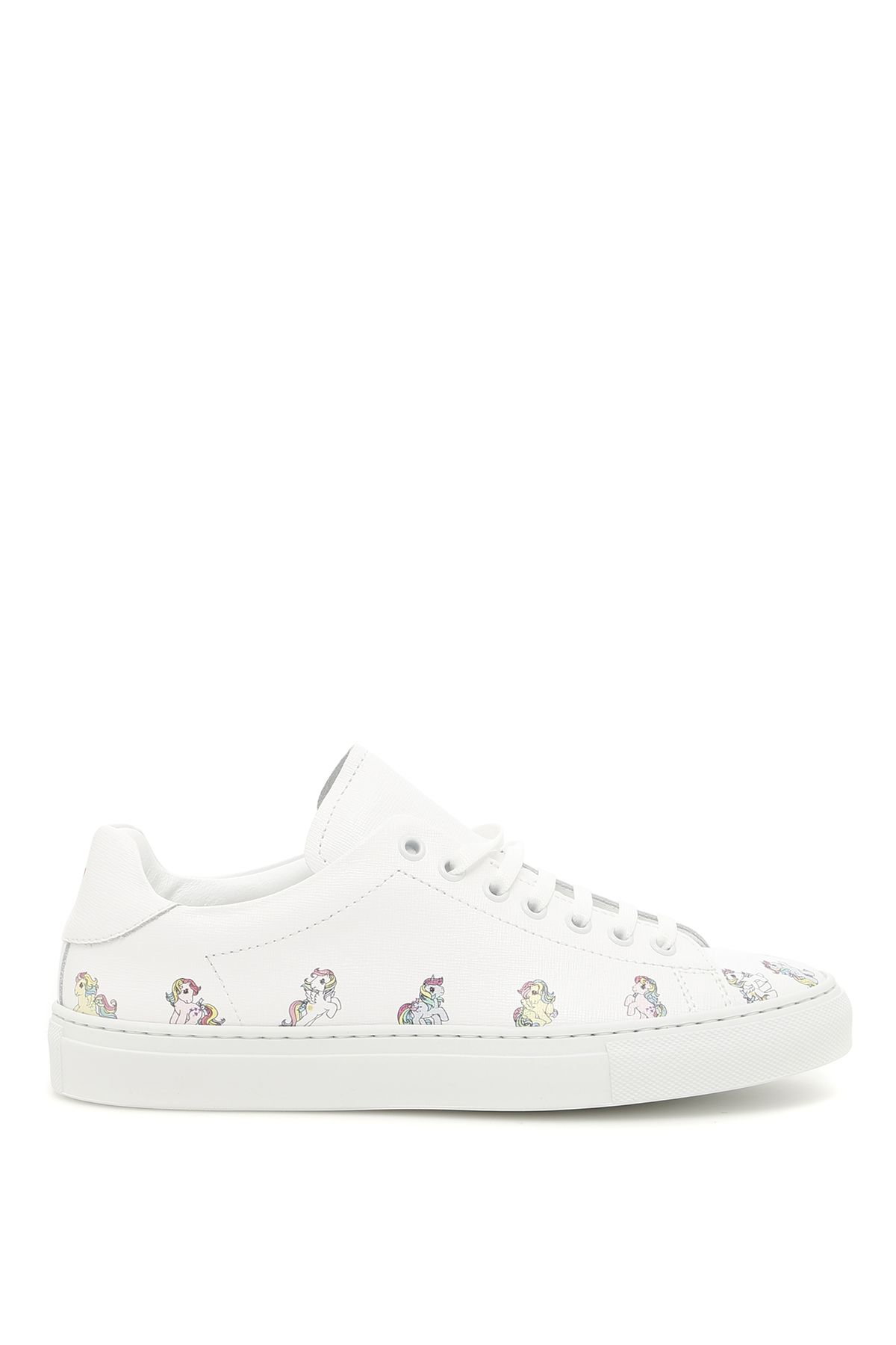 Joshua Sanders Simple Pony Leather Sneakers
