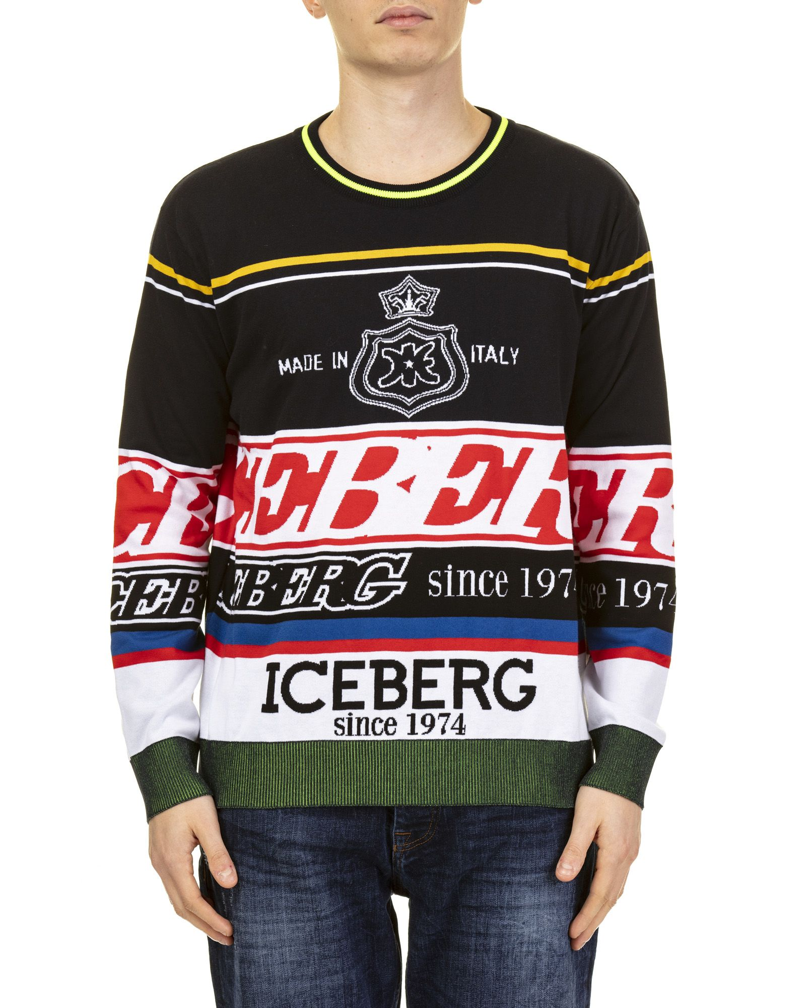 Iceberg Iceberg Cotton Sweater