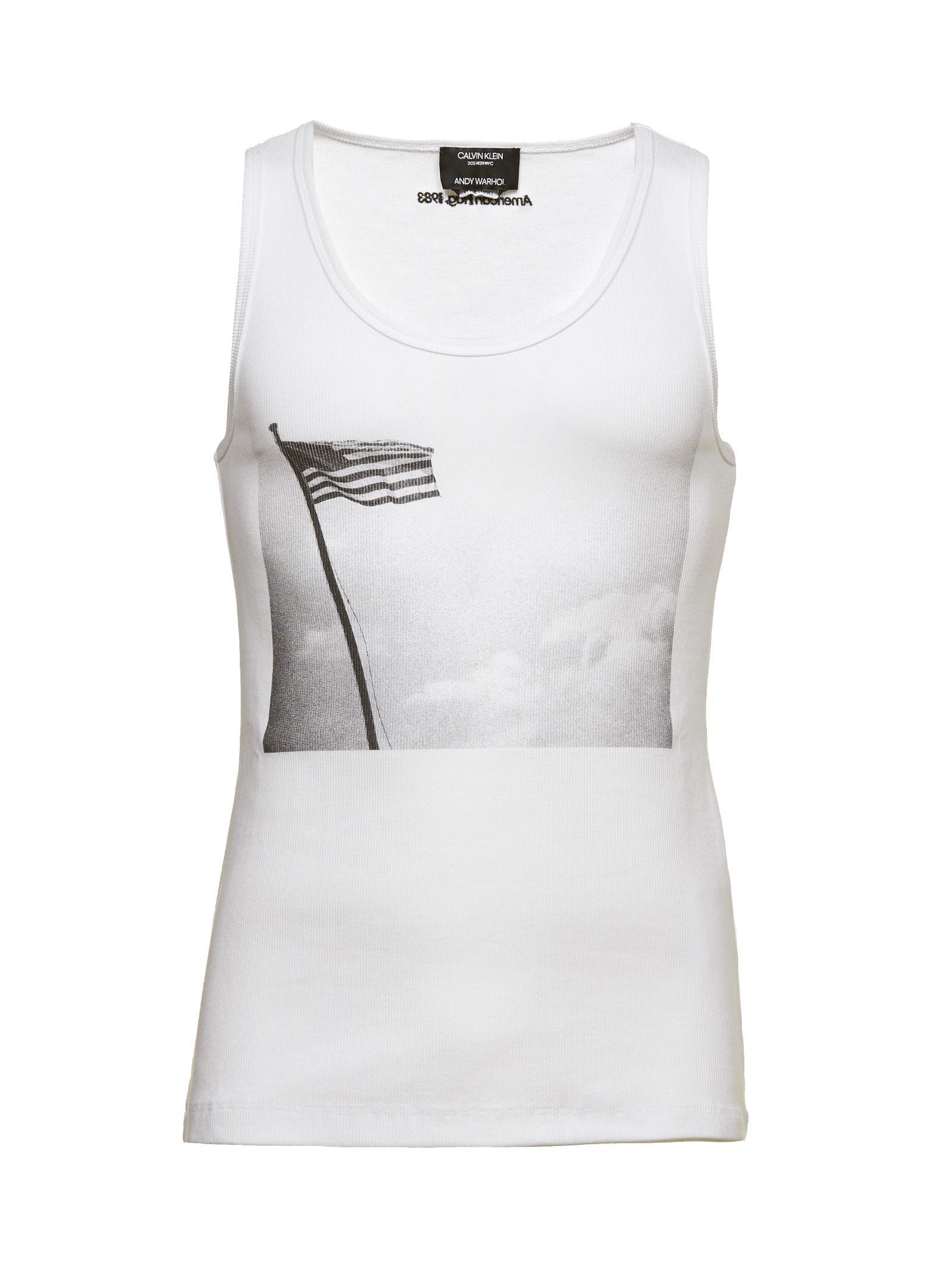 Calvin Klein American Flag Tank Top