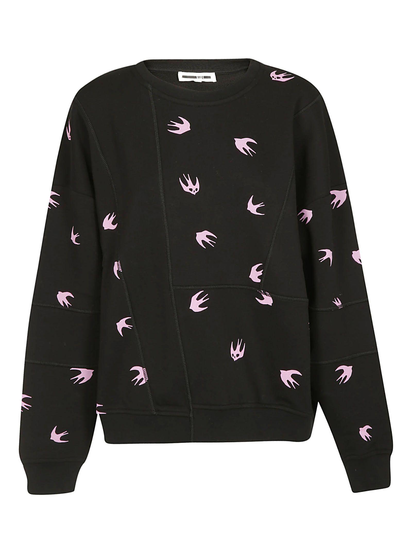 Mcq Alexander Mcqueen Mini Swallow Sweatshirt