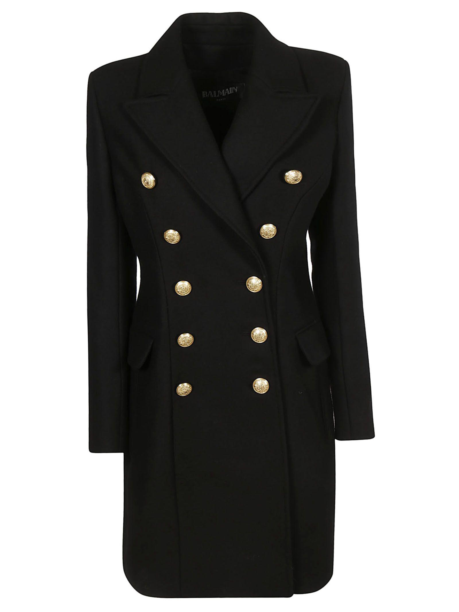 Balmain Double Breasted Coat