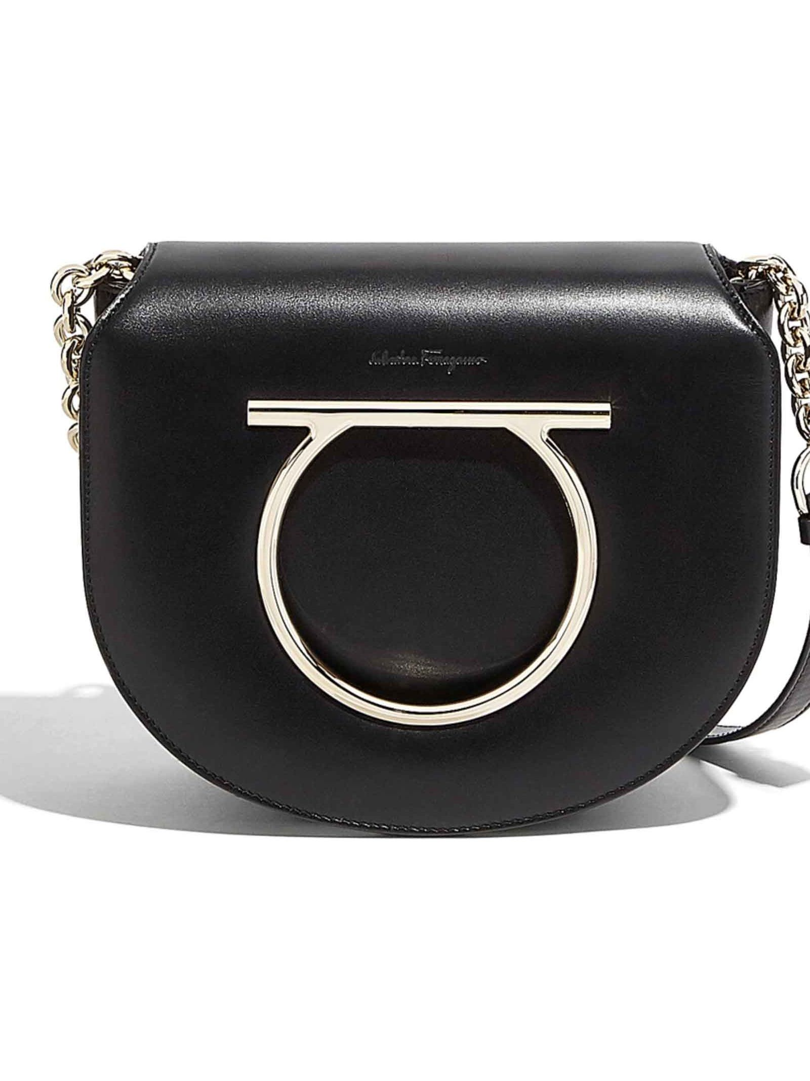 Salvatore Ferragamo Gancini Ornament Shoulder Bag