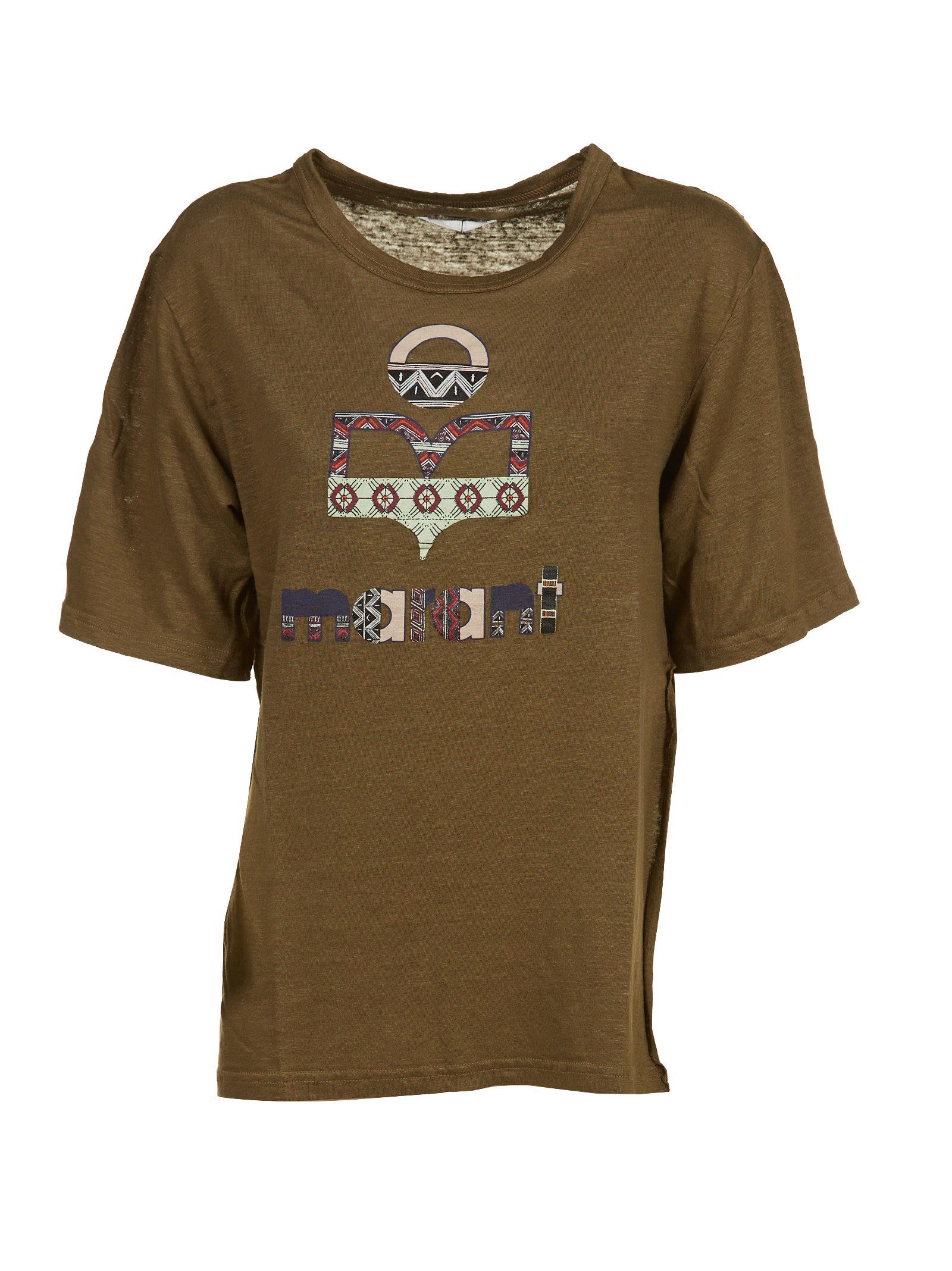 Isabel Marant Etoile Printed Logo T-shirt