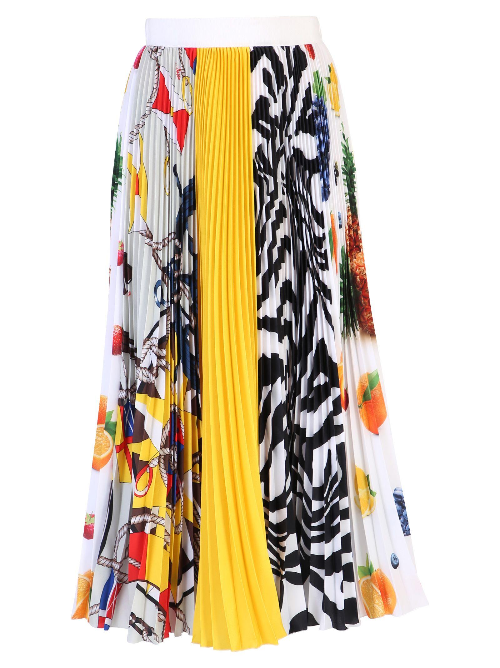 MSGM Pleated Skirt