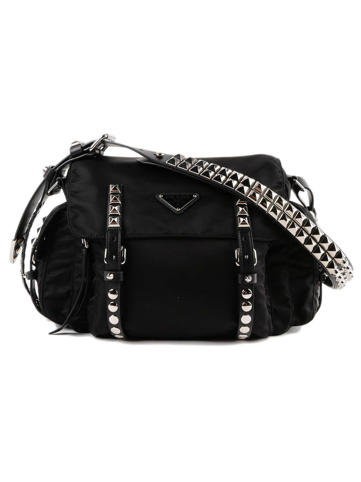 0219b43b582a Prada New Vela Shoulder Bag In Nero | ModeSens