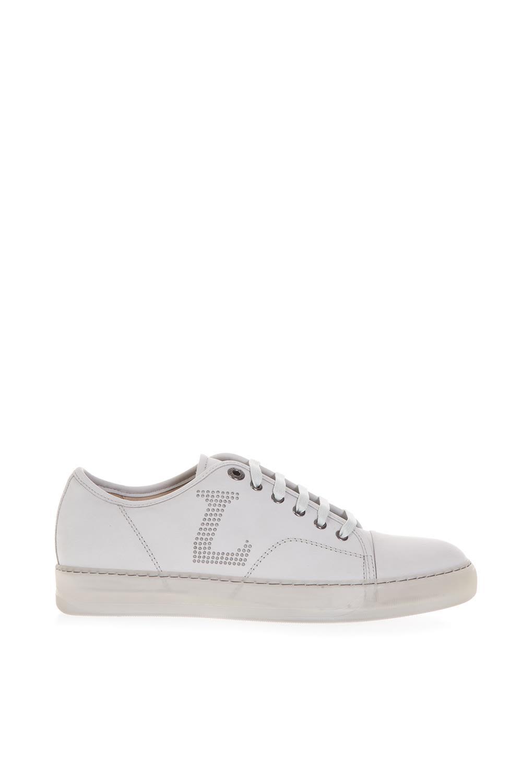 Lanvin White Nubuk Sneakers