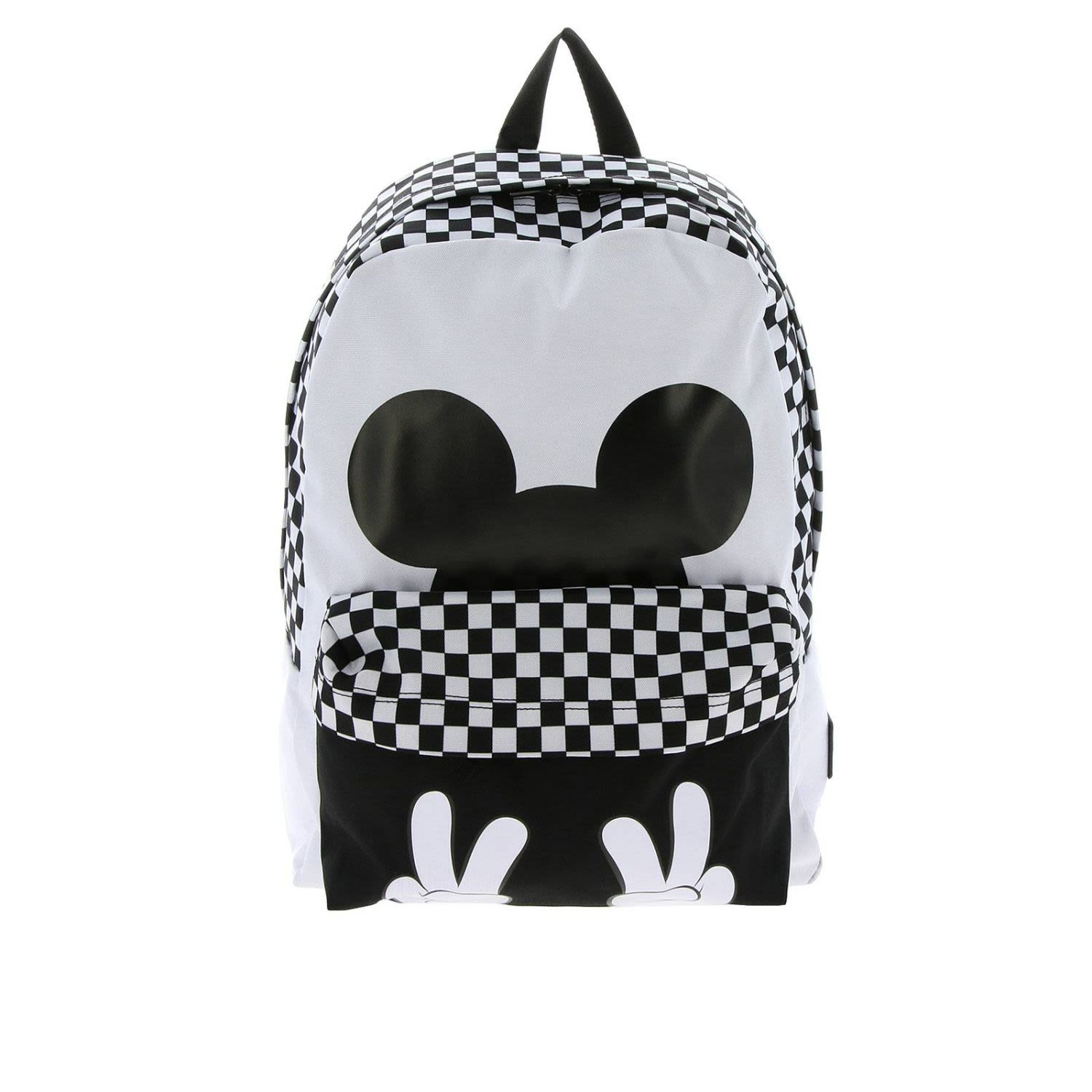 Vans Backpack Vans Disney Backpack Dedicated To Mickey Mouse's 90th Anniversary In Cotton Cloth
