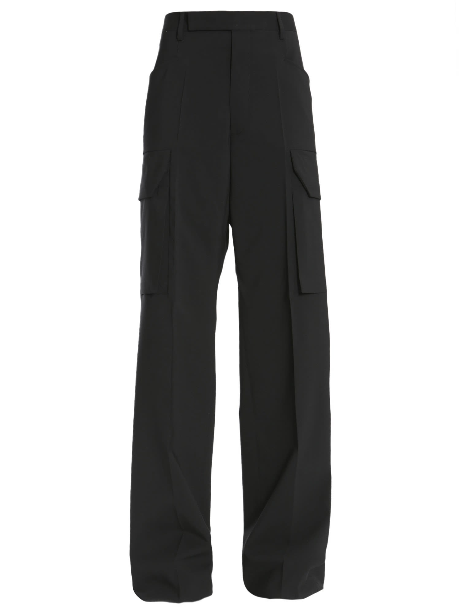 rick owens -  Cargo Tailored Trousers