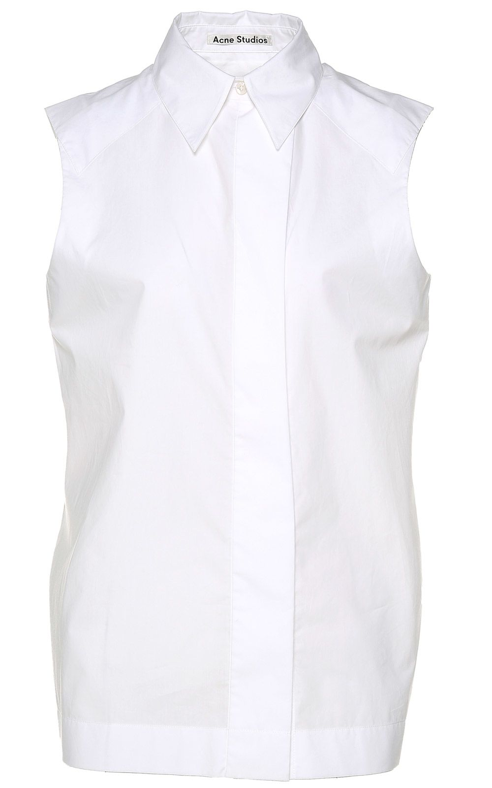 Acne Studios Luchia Pop Cotton-poplin Shirt