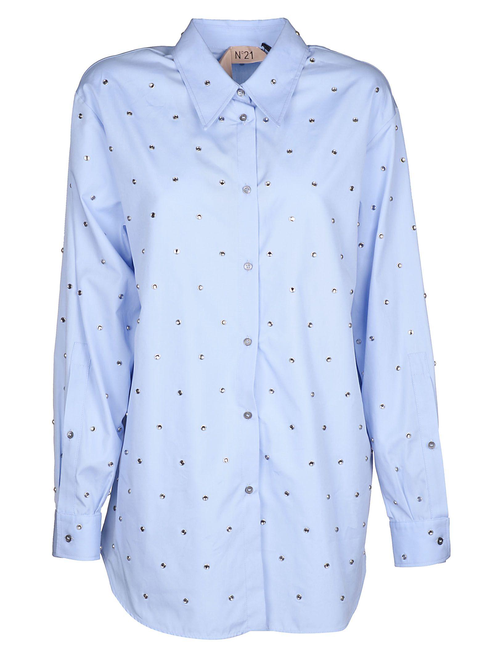 N.21 Clelia Poplin Shirt