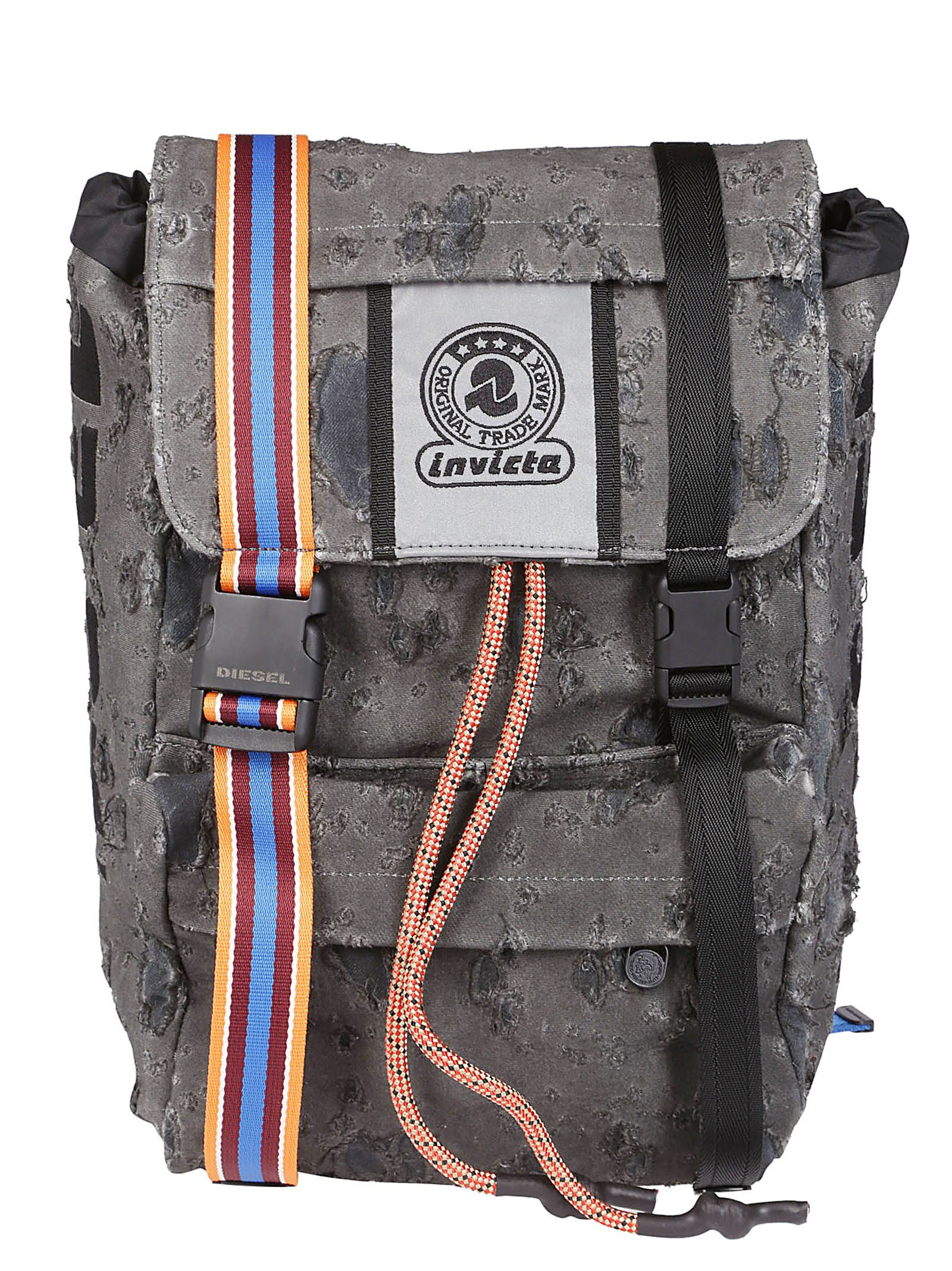 Invicta X Diesel Logo Backpack