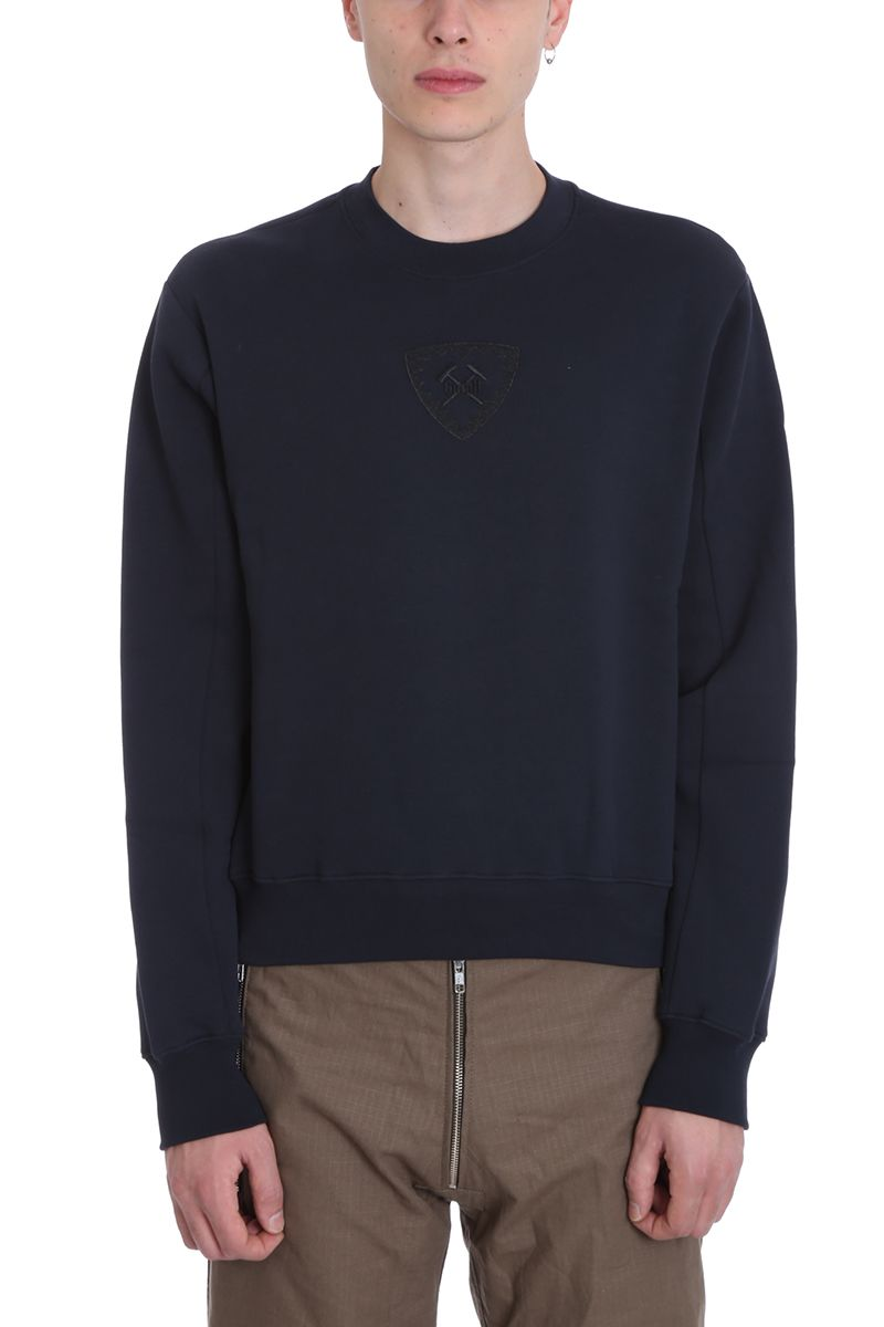 GMBH Berg Blue Cotton Sweatshirt