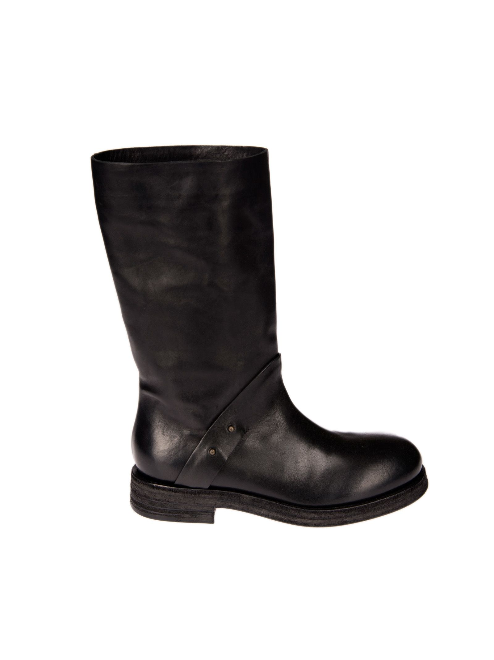 Roberto Del Carlo Roberto Rivets Detail Boots