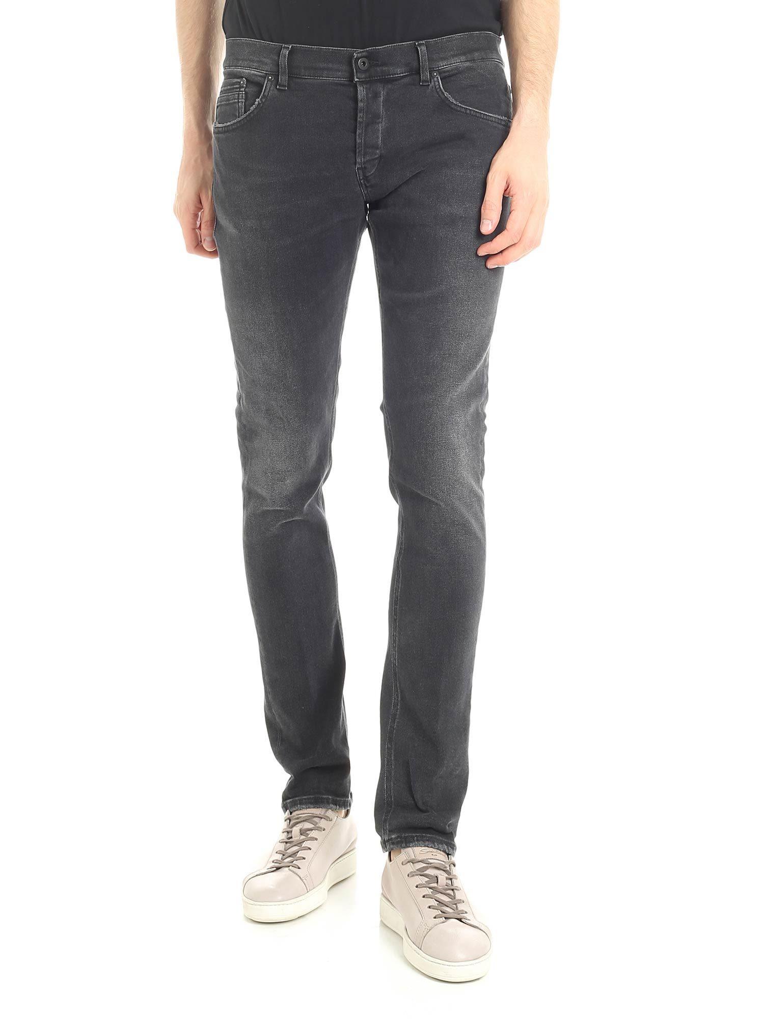 Dondup Ritchie Black Jeans