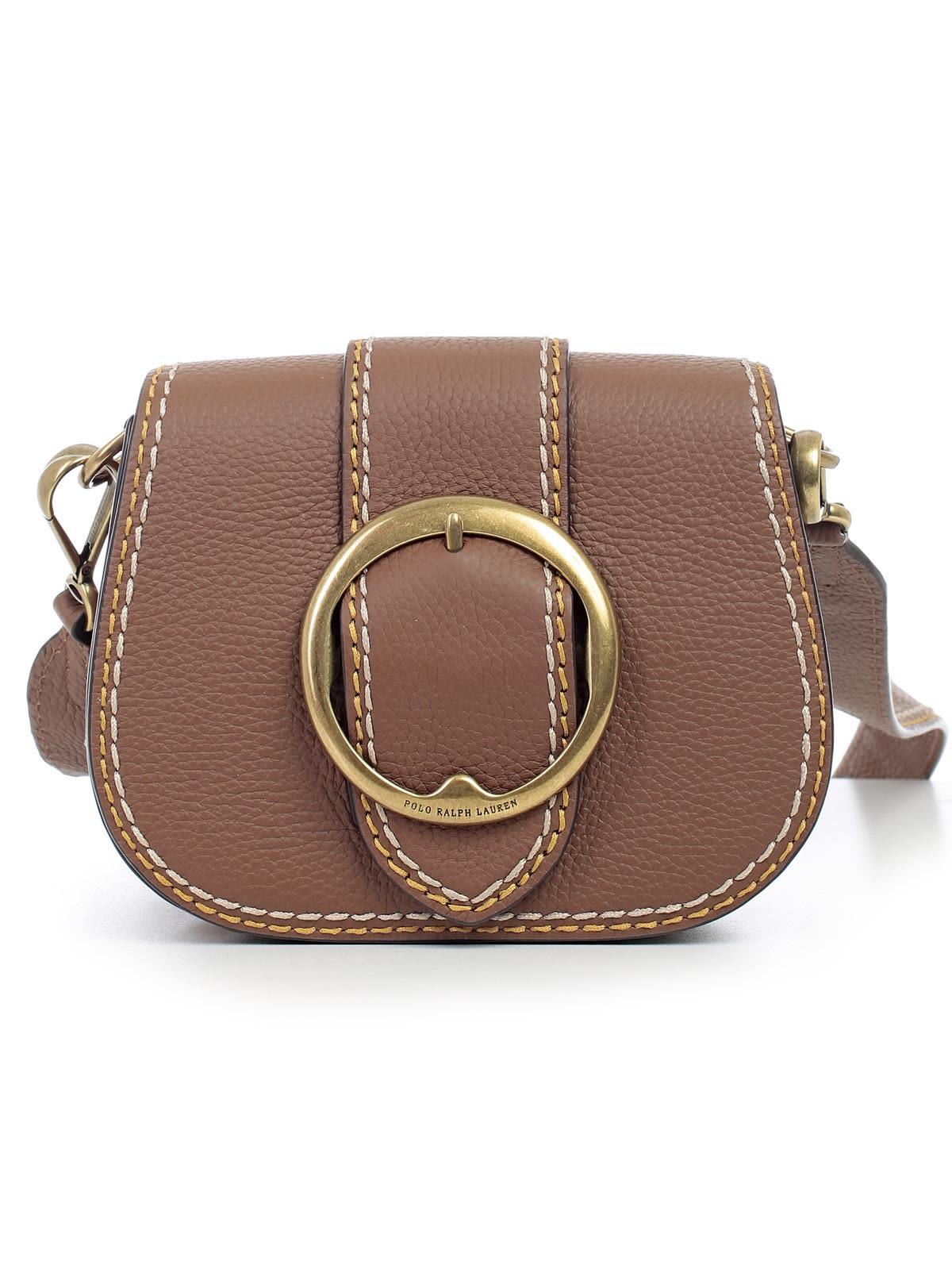 Polo Ralph Lauren Buckled Saddle Shoulder Bag