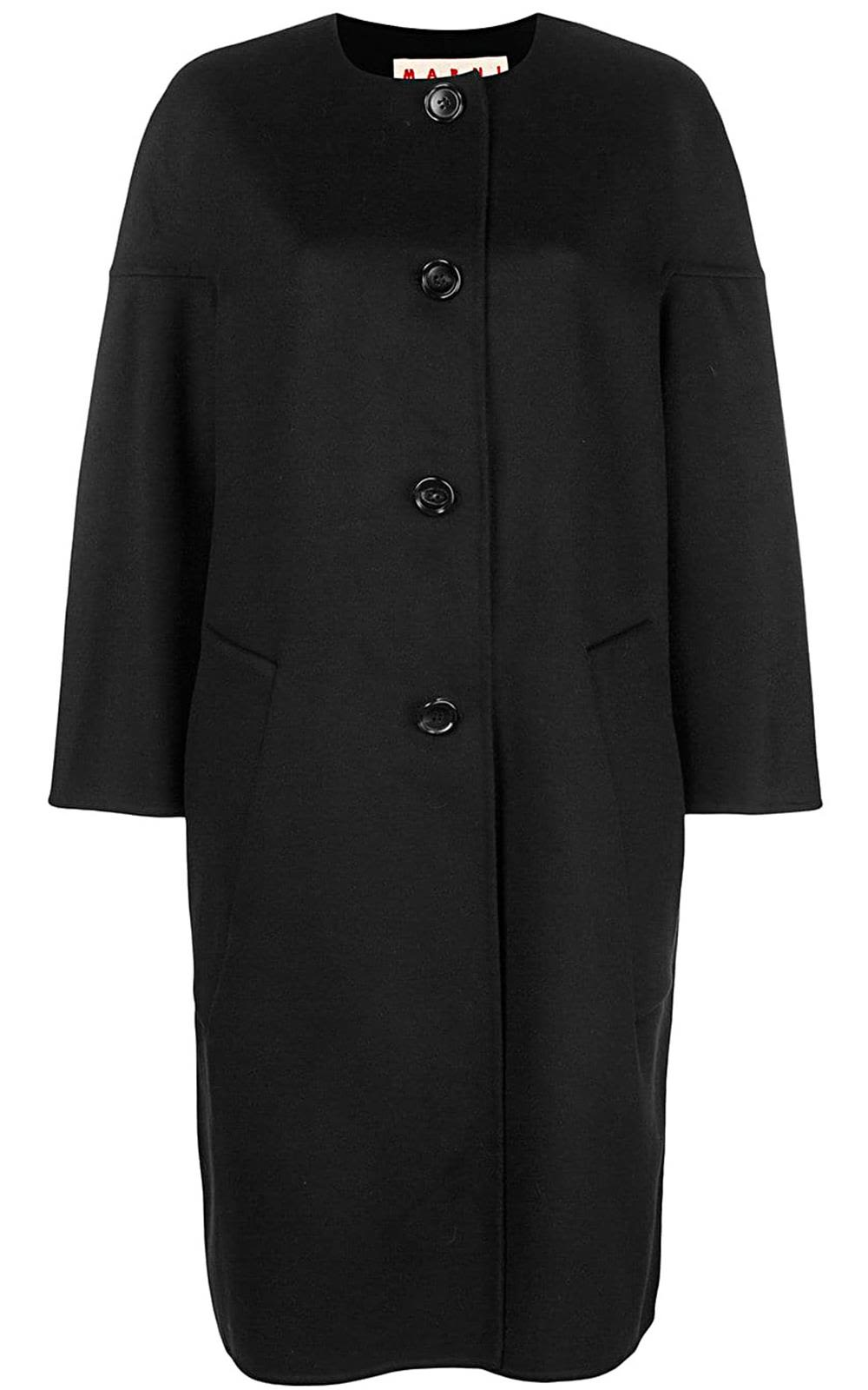 Marni Cocoon Cashmere And Wool-blend Coat