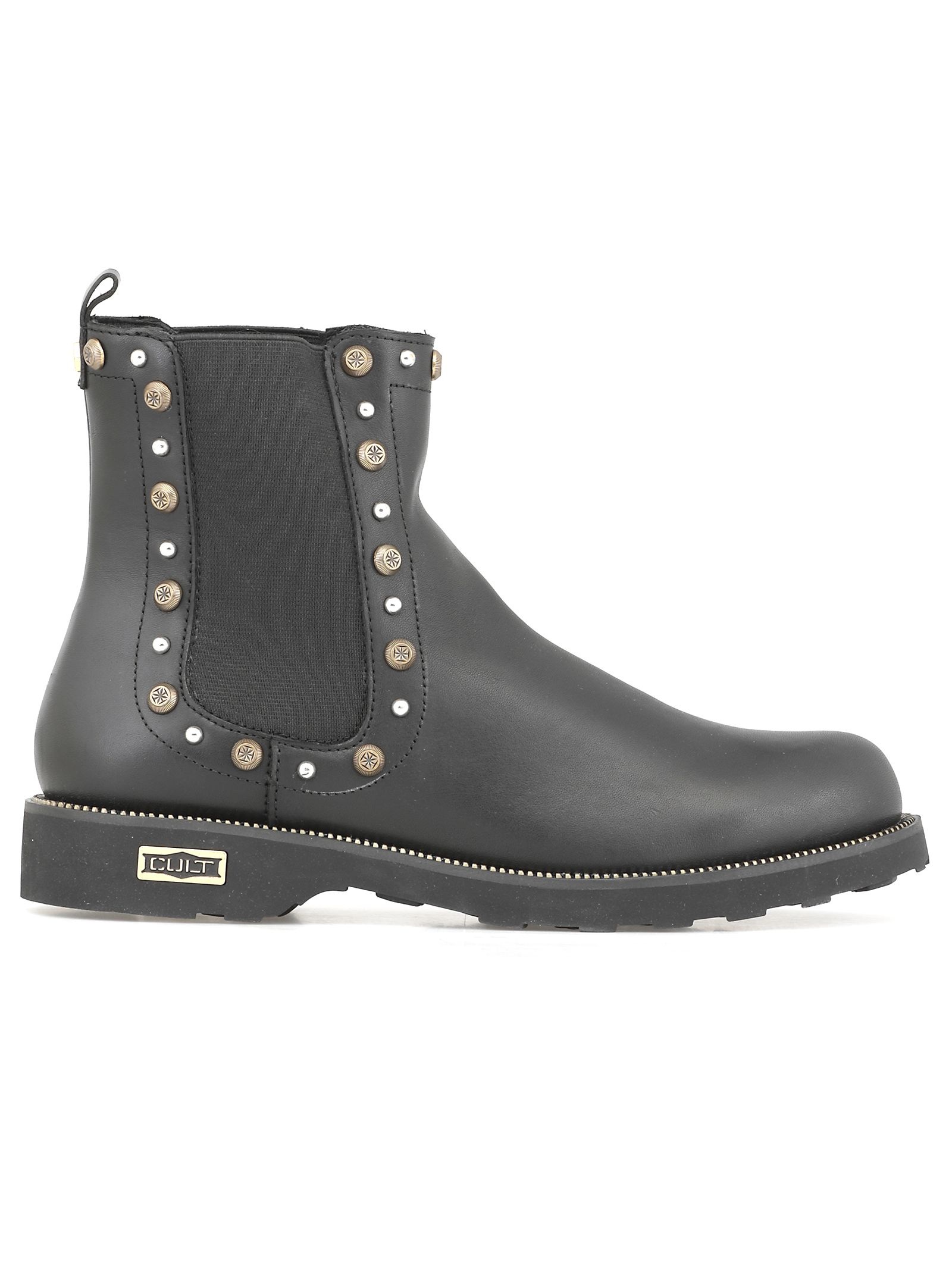CULT Leather Chelsea Boot in Black