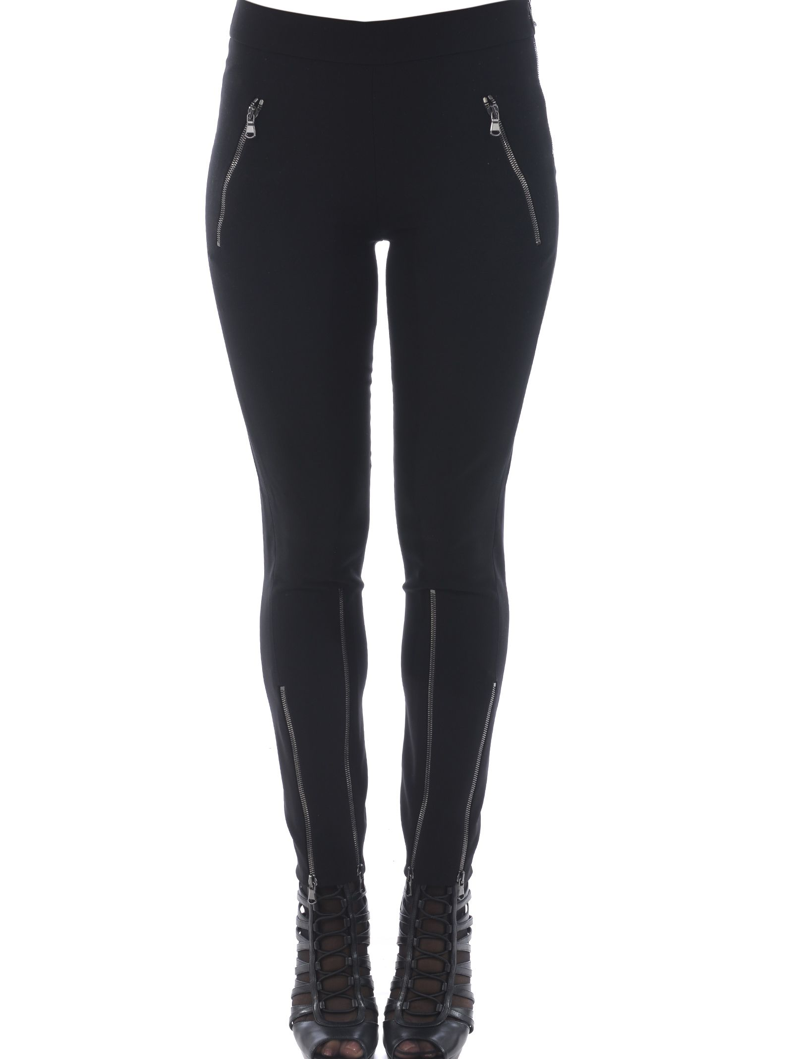 Moschino Zipped Detail Leggings