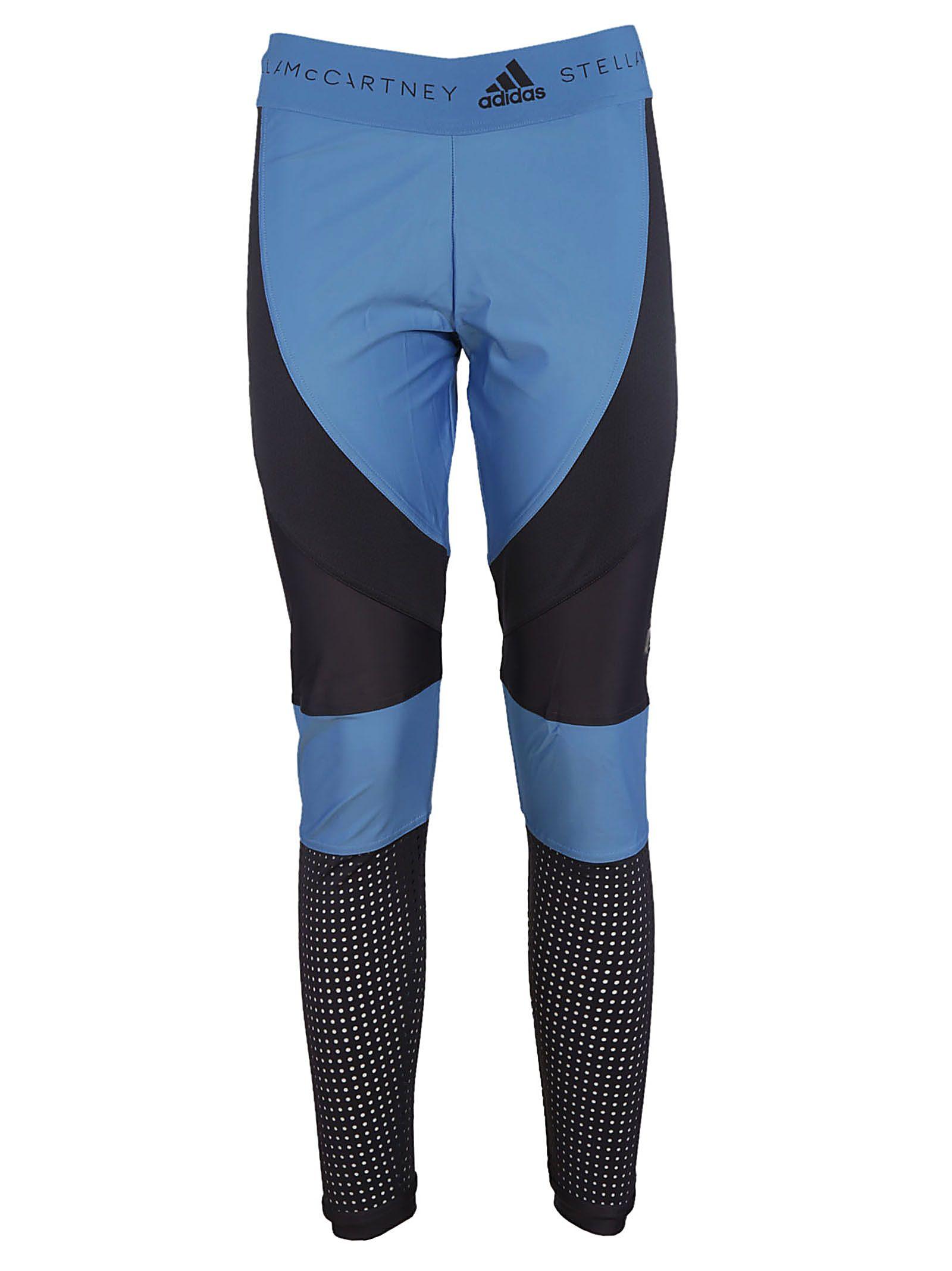 Adidas By Stella Mccartney Color Block Running Leggings